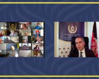 Ambassador Soroosh Speeks at a Virtual Session Hosts by the University Women Helping Afghan Women