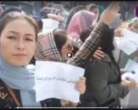 Afghan women continue to courageously stand up and protest across the country
