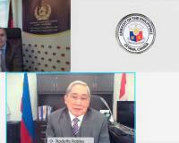 Ambassador Soroosh and Ambassador  Robles of the Philippines Hold a Virtual Meeting