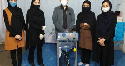 The Afghan Girls Robotic Team Build Ventilator