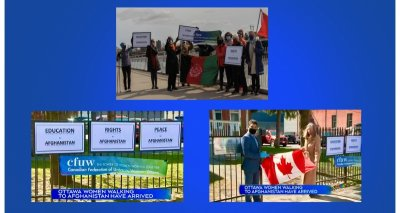 """Message on Successful Conclusion of the""""Walk to Kabul"""" Campaign"""