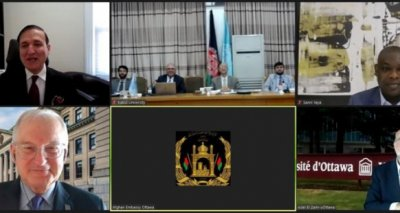 First Meeting Between the Kabul University, Embassy of Afghanistan and the University of Ottawa Hold Virtually