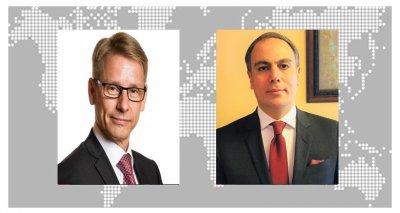 Ambassador Soroosh Has a Virtual Meeting with Ambassador of Finland to Canada