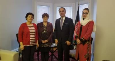 Ambassador Hassan Soroosh Meets with  Co-chairs of the Canadian Women for Women in Afghanistan