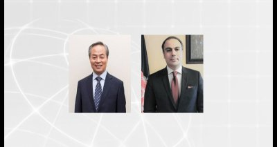 Ambassador Soroosh Holds a Virtual Meeting with the Ambassador of the Republic of Korea to Canada