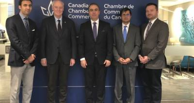 Ambassador Soroosh Visits the Canadian Chamber of Commerce