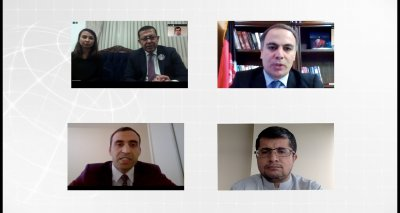 Ambassador Soroosh Holds a Virtual Meeting With the Head of Afghanistan Chambers Federation and the Advisor to the Ministry of Industry and Commerce