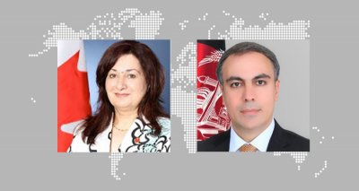 Ambassador Soroosh Has a Virtual Meeting with Co-Chair of the Canada-Afghanistan Parliamentary Friendship Group
