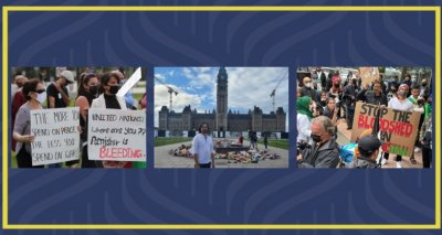Afghan Diaspora Community in Canada Continue Their Protests
