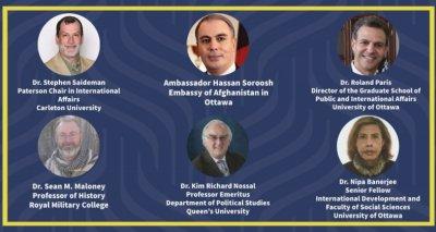Ambassador Soroosh Meets with Prominent Canadian Scholars