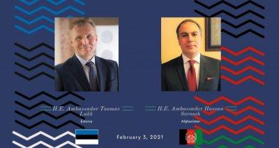 Ambassador Soroosh Holds a Phone Conversation with Ambassador of Estonia