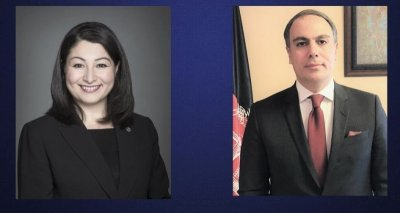 Ambassador Soroosh Holds a Virtual Meeting with the Honorable Maryam Monsef, Minister of Women, Gender Equality and Rural Economic Development of Canada