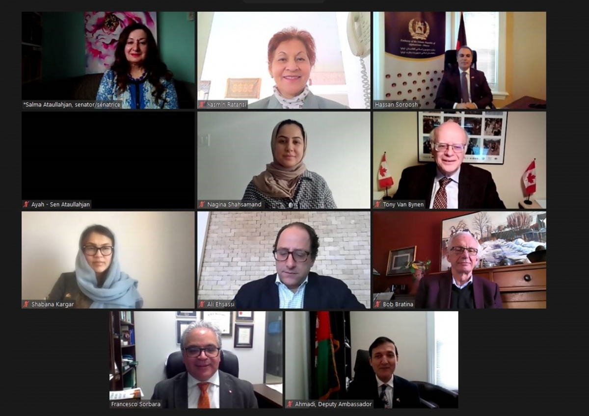CANADA-AFGHANISTAN PARLIAMENTARY FRIENDSHIP GROUP HOLDS A VIRTUAL GENERAL MEETING