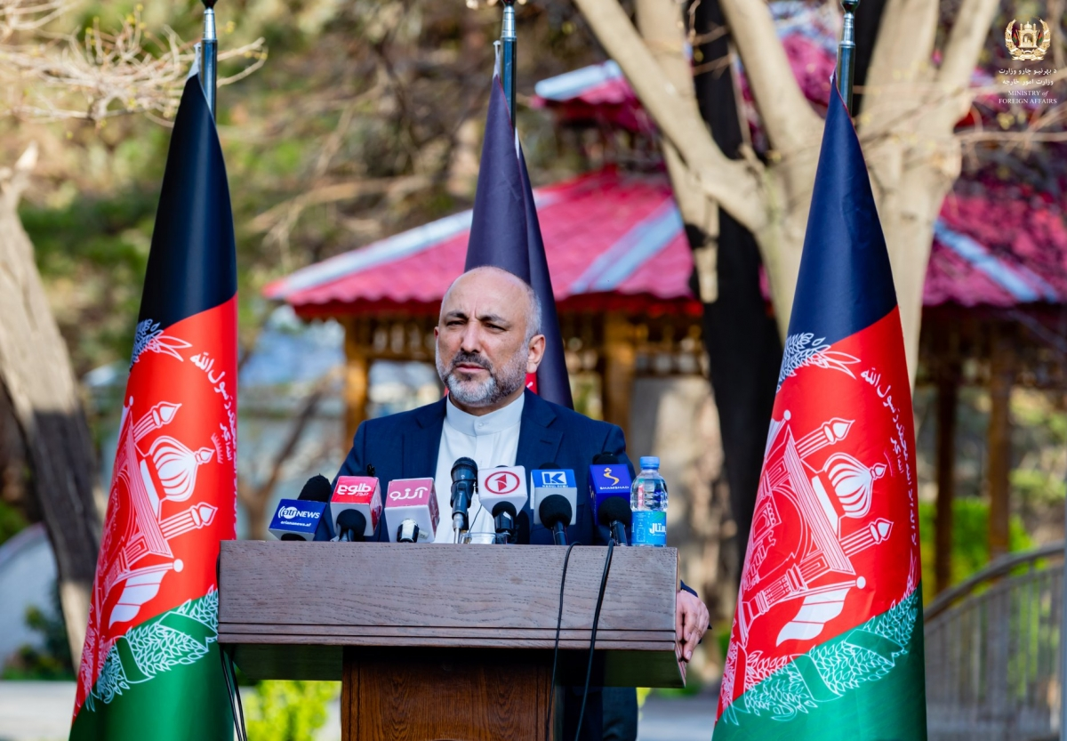H.E. Mohammad Hanif Atmar Assumes Office as Acting Minister of Foreign Affairs