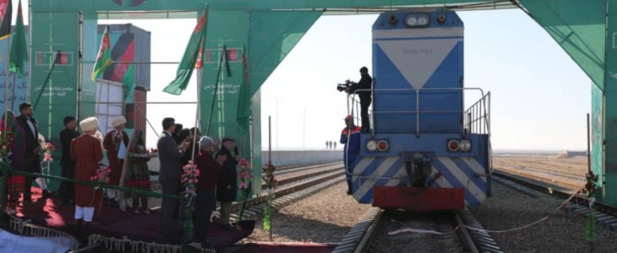 Presidents of Afghanistan and Turkmenistan Inaugurate Three Joint Projects