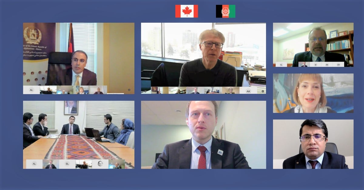Global Affairs Canada Hosts a Virtual Session between the Natural Resources Canada and the Ministry of Mines and Petroleum of Afghanistan
